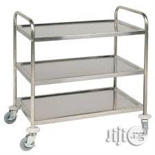 Trolley Cart Stainless Steel 2020 Steel | Store Equipment for sale in Lagos State, Gbagada