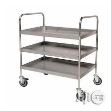 Trolley Cart Stainless Steel | Store Equipment for sale in Kaduna State, Zaria