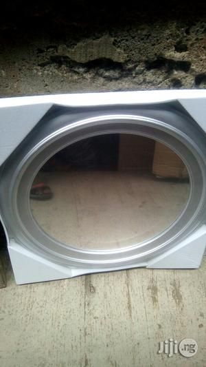 Round Mirror Grey | Home Accessories for sale in Lagos State, Surulere