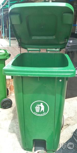 Unique Strong 240litr Plastic Pedal Waste Bin Brand New   Home Accessories for sale in Lagos State, Lekki