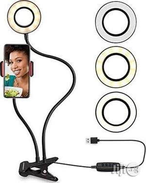 Flexible Selfie Ring Light With Cell Phone Holder | Vehicle Parts & Accessories for sale in Rivers State, Port-Harcourt