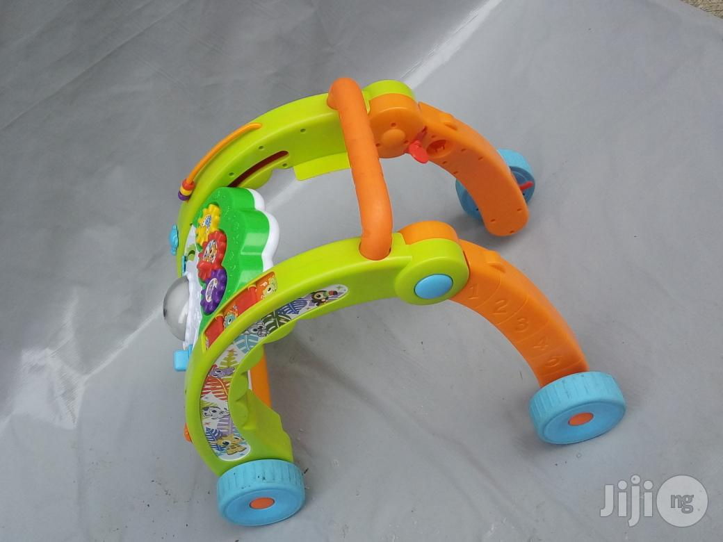 Tokunbo UK Used 3 In 1 Little Tikes Baby Learning Walker From 8 Month To 3 Years | Children's Gear & Safety for sale in Lagos State, Nigeria