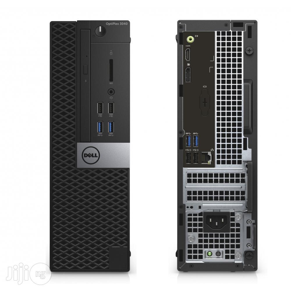 New Desktop Computer Dell OptiPlex 3050 4GB Intel Core I5 HDD 1T | Laptops & Computers for sale in Ikeja, Lagos State, Nigeria