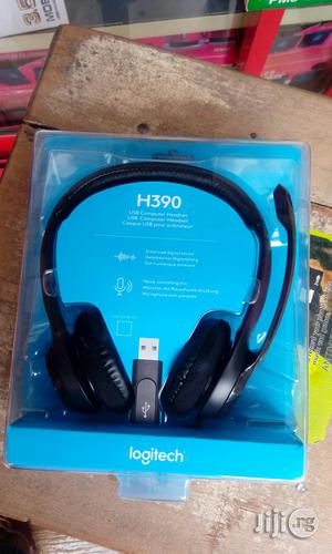 H390 USB Logitech Headphones | Headphones for sale in Lagos State, Ikeja