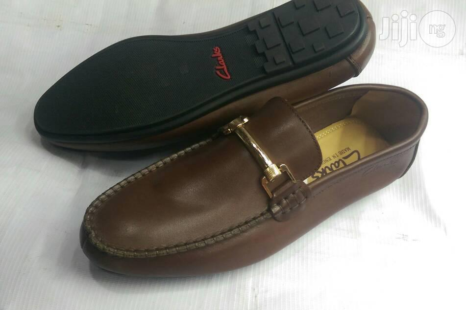 Men Brown Leather Loafers   Shoes for sale in Lagos Island (Eko), Lagos State, Nigeria