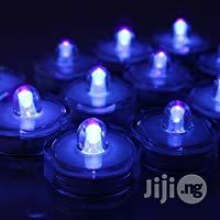 USA AGPTEK 1 Piece LED Submersible Waterproof Party Candle Blue Purple   Home Accessories for sale in Lagos State, Surulere