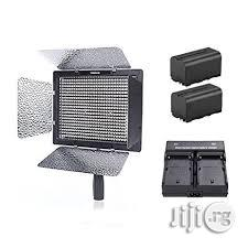 Yongnuo Video Light LED YN600L With 2 Battery & 1 Charger | Accessories & Supplies for Electronics for sale in Lagos Island (Eko), Lagos State, Nigeria