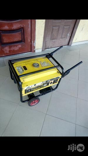 Neatlyused 3.3kva Elepaq Sv4500e2 Keystart Original Big Coppercoil Gen | Electrical Equipment for sale in Rivers State, Port-Harcourt