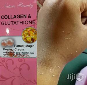 Collagen/Glutathione Exfoliating Cream   Skin Care for sale in Lagos State, Amuwo-Odofin