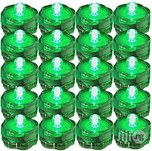 USA SUPER Bright LED Tea Light Submersible Lights For Party Green   Home Accessories for sale in Lagos State, Surulere