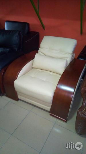 Leather Sofa Chair. | Furniture for sale in Lagos State