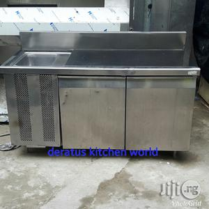 Industrial Sink With Work Table | Restaurant & Catering Equipment for sale in Lagos State, Ojo