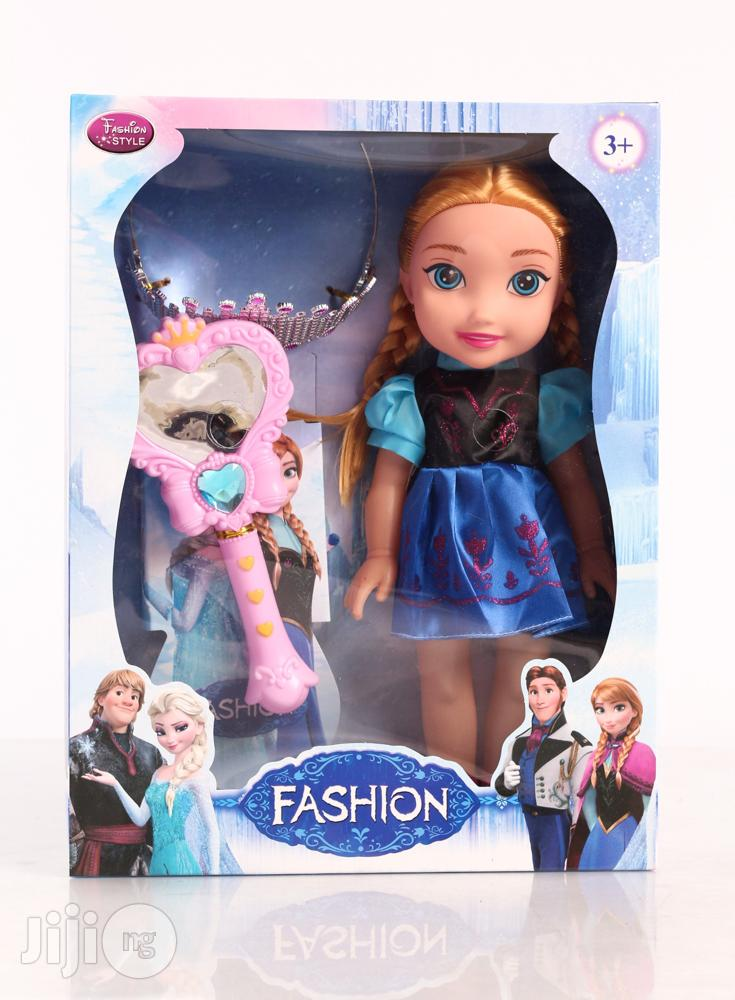 Doll Wit Crown and Magic Wand