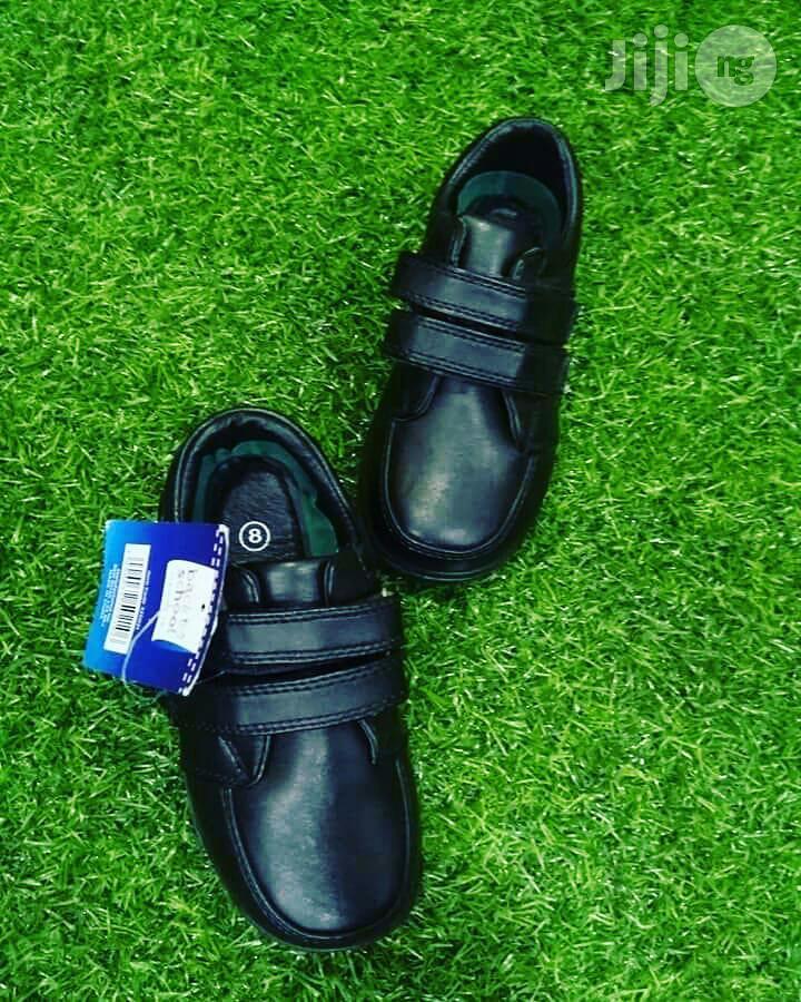Black School Shoe for Boys