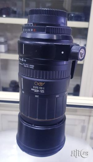 Sigma 135-400mm F4.5-5.6 APO Aspherical Lens For Nikon DSLR Cameras | Accessories & Supplies for Electronics for sale in Lagos State, Ikeja