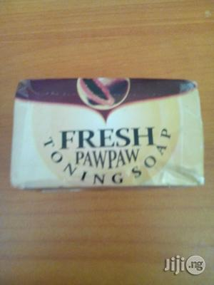 Fresh Paw-paw Whitening Soap | Bath & Body for sale in Lagos State