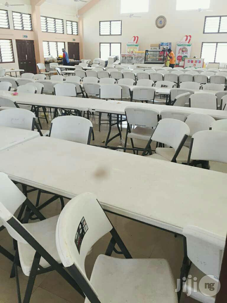 School Hall Dining Lifetime Chairs
