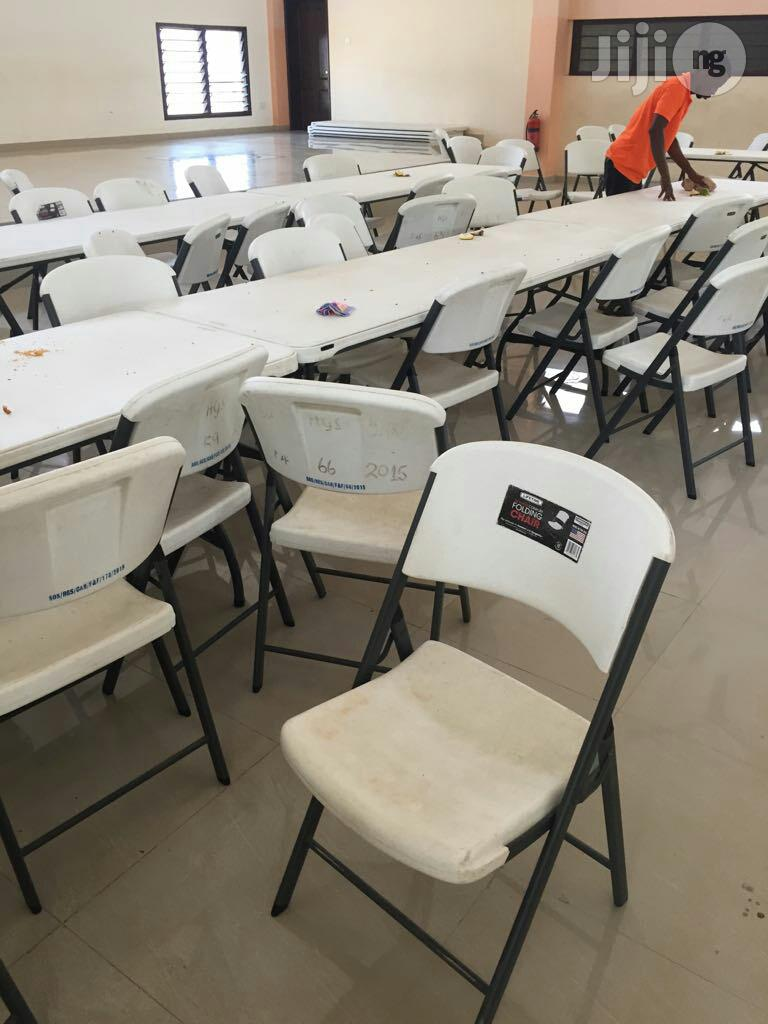 School Hall Dining Lifetime Chairs | Furniture for sale in Ikeja, Lagos State, Nigeria