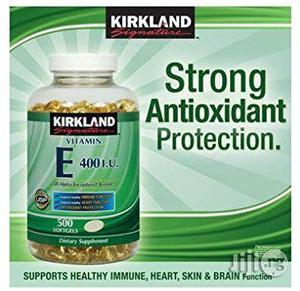 Kirkland Signature Vitamin E 400 IU, 500 Softgels   Vitamins & Supplements for sale in Lagos State