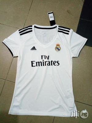Original Female Real Madrid Home Jersey | Clothing for sale in Lagos State, Ikeja