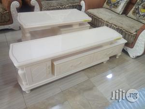 Unique Strong Adjustable T v Stand and Center Table Imported Brand New | Furniture for sale in Lagos State