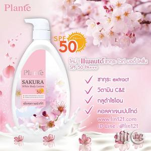 Plante Sakura Lotion Spf 50 | Bath & Body for sale in Lagos State, Amuwo-Odofin
