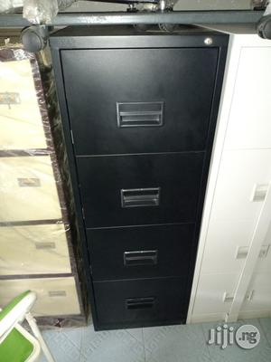 Strong 4-drawer Office Filing Cabinet | Furniture for sale in Lagos State, Ikeja