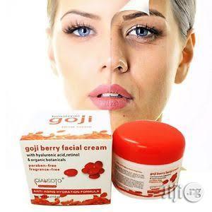 Goji Anti Aging, Anti Wrinkle Face Lift Moisturizing Cream | Skin Care for sale in Lagos State, Ikeja