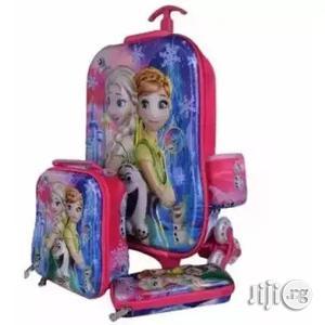 Frozen Kids Trolley Bag Lunch Box Pencil Case | Babies & Kids Accessories for sale in Lagos State, Lagos Island (Eko)