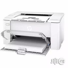 HP Hp Laserjet Pro M102a Black & White Printer   Printers & Scanners for sale in Lagos State, Ikeja