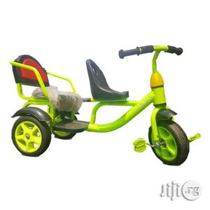 Iron Frame Baby Tricycle With Double Seat 1-3 Years | Toys for sale in Lagos State, Lagos Island (Eko)