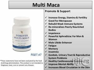 Multi Maca Forever Living Products | Sexual Wellness for sale in Rivers State, Port-Harcourt