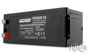 Fullriver 200ah/12v Deep Cycle HGL Battery   Solar Energy for sale in Lagos State, Ikeja