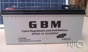 GBM 150ah/12v Deep Cycle Battery   Solar Energy for sale in Lagos State, Ikeja