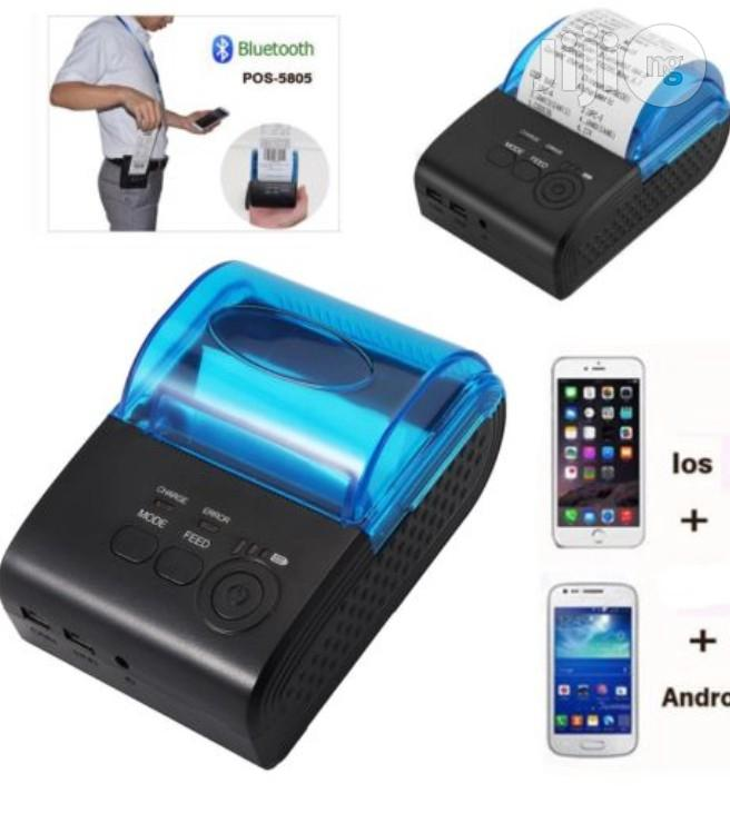 Archive: Mini 58mm Wireless Bluetooth USB Thermal Printer POS Bill