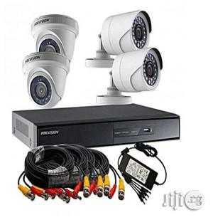 Combo Pack Turbo HD 1 Megapixel 720p 4ch CCTV Camera Kit   Security & Surveillance for sale in Lagos State, Ikeja