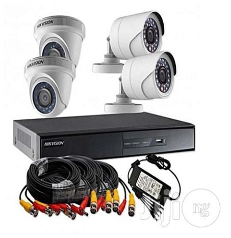 Combo Pack Turbo HD 1 Megapixel 720p 4ch CCTV Camera Kit