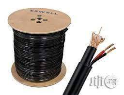 Rg59+Power CCTV Cable Coaxial 305metrs Ptech | Accessories & Supplies for Electronics for sale in Lagos State, Agboyi/Ketu