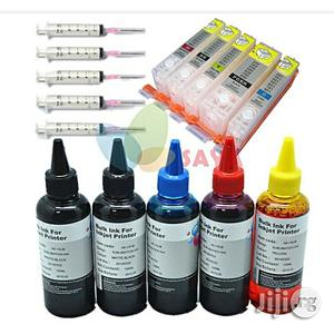 Canon Refill Ink Set Withe Refill Ink Cartridge For Pixma 7240   Accessories & Supplies for Electronics for sale in Lagos State, Ikeja