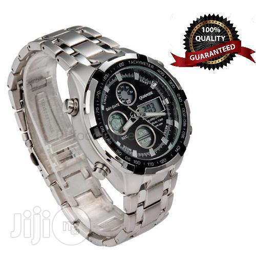 Archive: Executive Waterproof Analogue And Digital LED Chain Watch