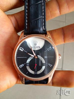 Rolex Leather Watch | Watches for sale in Rivers State, Port-Harcourt
