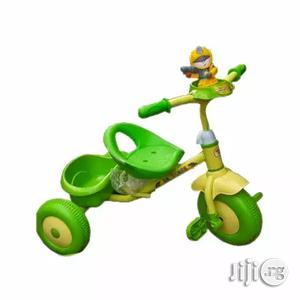 Happy Family Baby Tricycle With Carrier - Green Yellow | Toys for sale in Lagos State, Lagos Island (Eko)