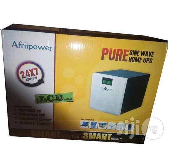Afriipower 1700VA/24V Pure Sine Wave Inverter   Solar Energy for sale in Ikeja, Lagos State, Nigeria