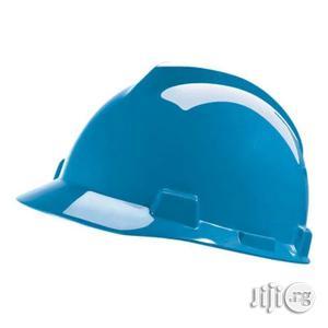 V Gard Safety Helmet - Blue   Safetywear & Equipment for sale in Lagos State, Lagos Island (Eko)