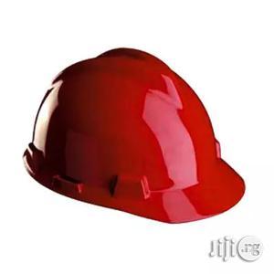 V Gard Safety Helmet - Red   Safetywear & Equipment for sale in Lagos State, Lagos Island (Eko)