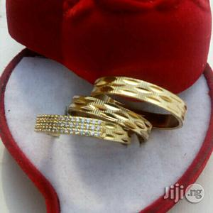 Romania Light Gold Wedding Ring | Wedding Wear & Accessories for sale in Lagos State