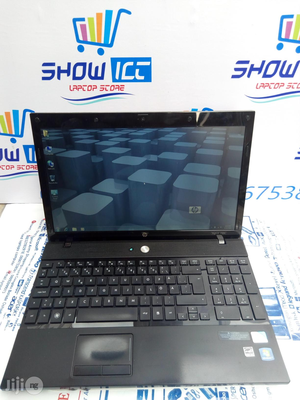 Laptop HP ProBook 4510S 4GB Intel Core 2 Duo HDD 320GB | Laptops & Computers for sale in Maryland, Lagos State, Nigeria