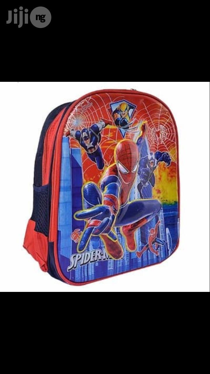 Archive: Kids' Spiderman School Bag