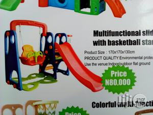 Multi-fuctional Slide With Basketball Stand | Toys for sale in Lagos State, Ikeja