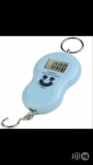 Portable Electronic Scale - Black | Store Equipment for sale in Lagos State, Amuwo-Odofin